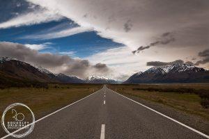 Road to Aoraki