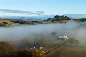 Towy Valley Panorama