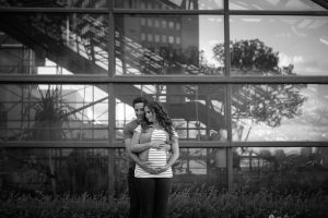 Maternity Photos in Downtown Edmonton