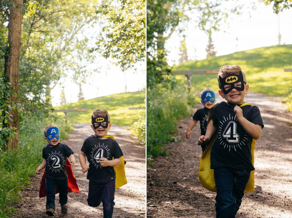 Superheros, Cuddles and Laughs