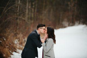 Beautiful Winter Proposal