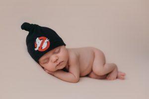 A Smiley Newborn Baby