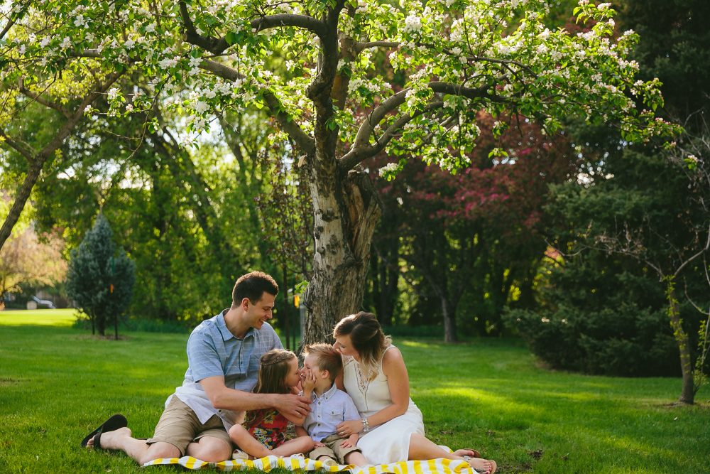Beautiful Summer Family Session