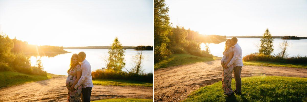 Lakeside Sunset Maternity