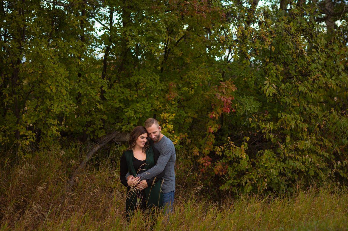 Edmonton Fall Engagement