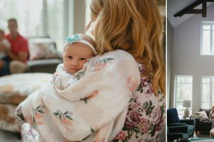 in home lifestyle newborn session