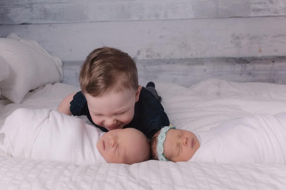 twin newborn