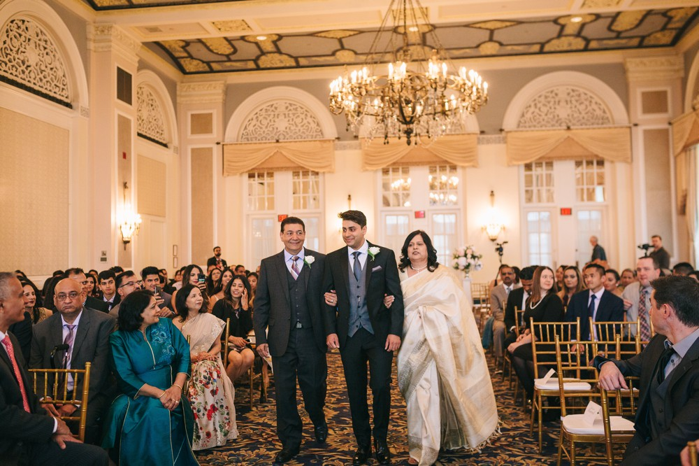 Laura and Neeraj's Hotel MacDonald Wedding