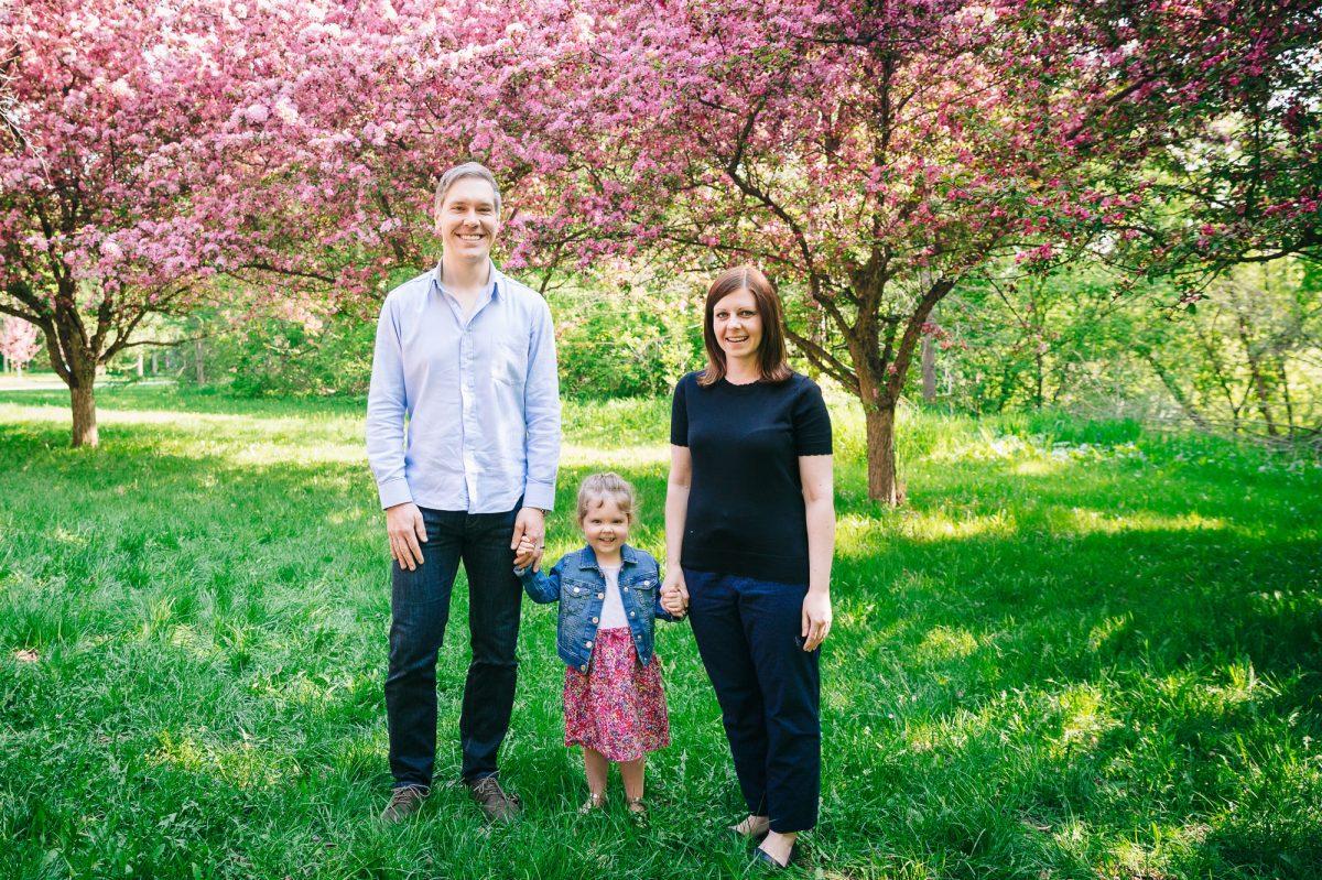 Heintz Family in the Edmonton Blossoms