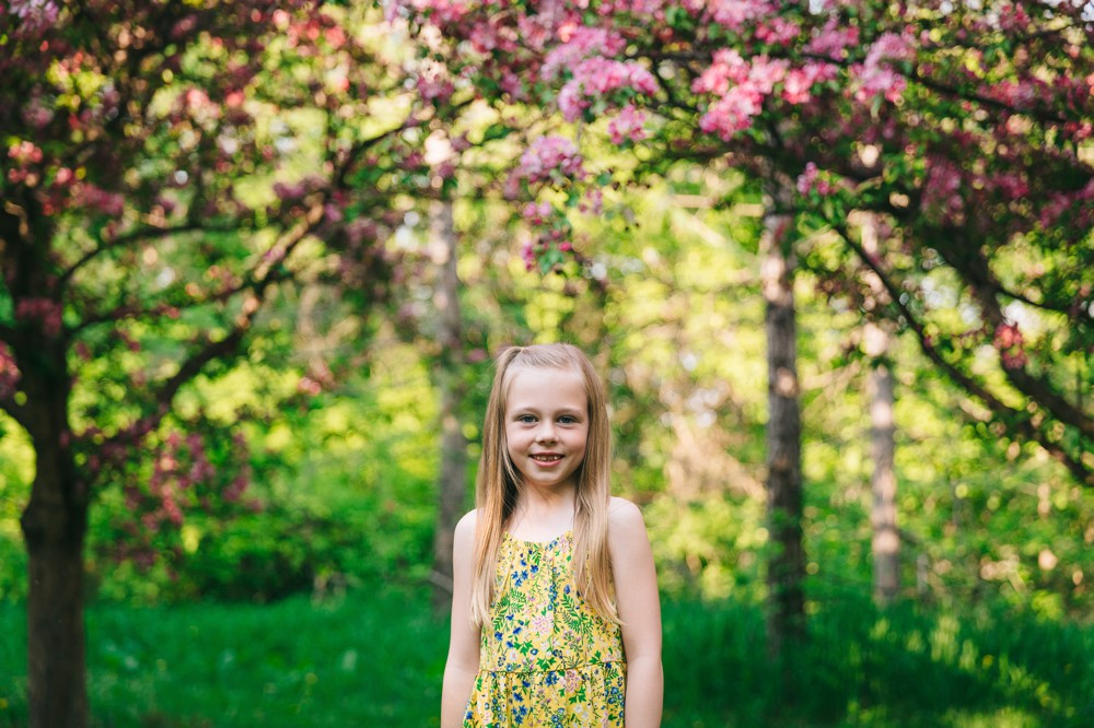 The Leachmans | Spring Photos in Edmonton
