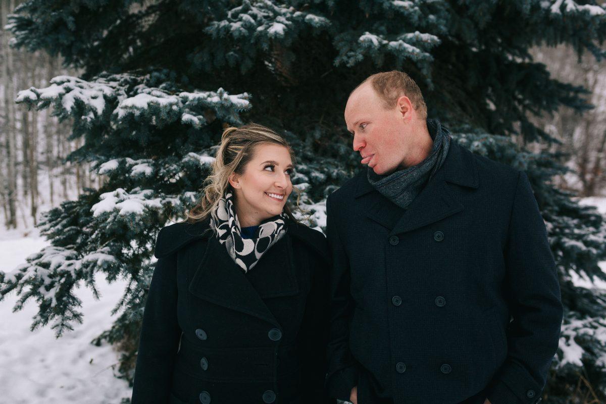 Roughely Originals Engagement Session in Mill Creek Ravine, Edmonton