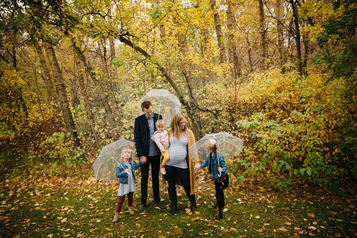 Embracing the Rain with the Axani Family