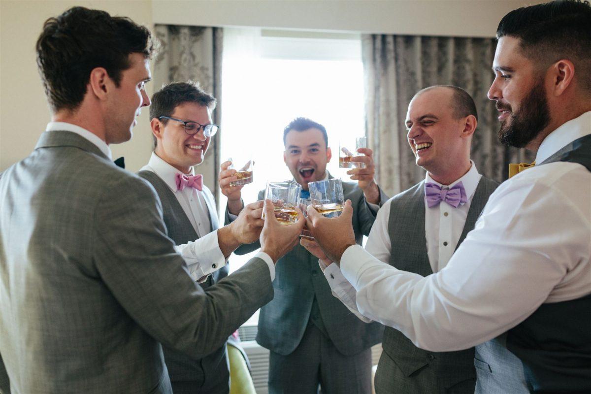 Rachelle and Derek's Outdoor Edmonton Wedding