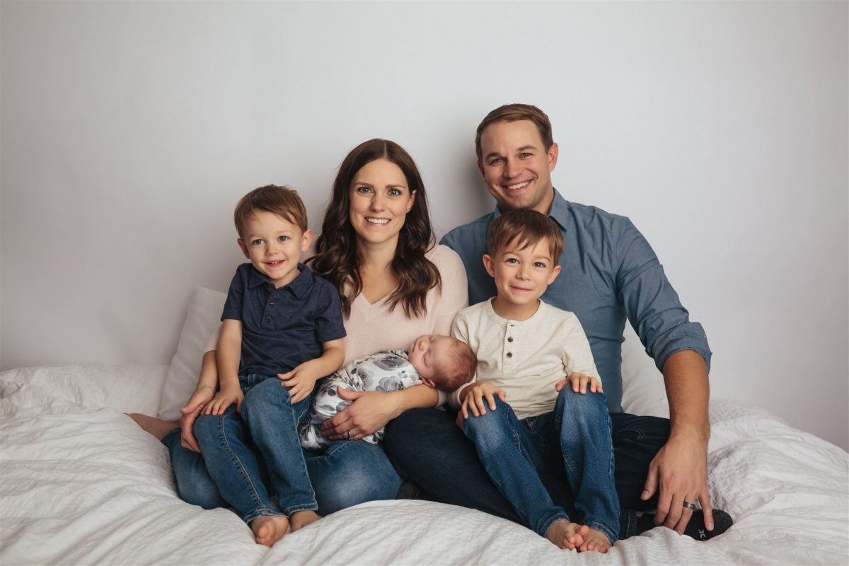 Keats Family Newborn Session