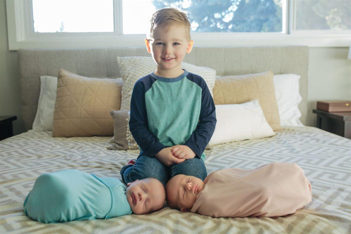 Edmonton Newborn Twins