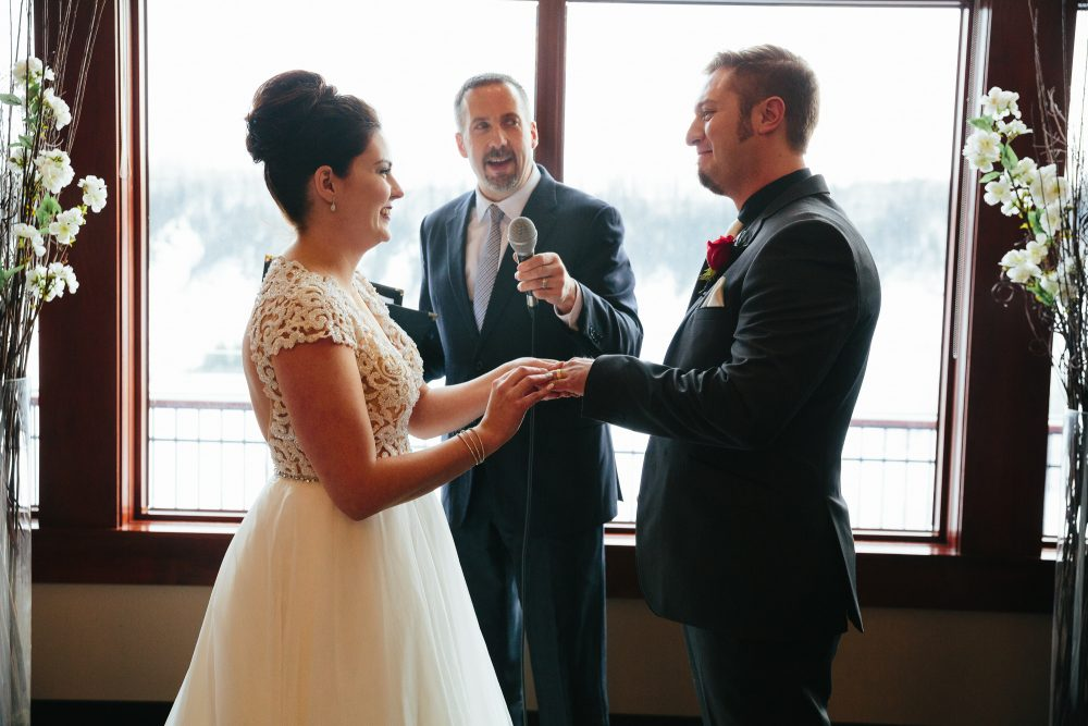 Edmonton Winter Wedding at Blackhawk Golf Club