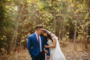 Edmonton Autumn Wedding