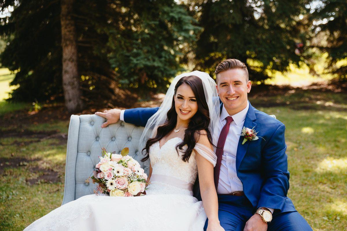 Edmonton Autumn Wedding