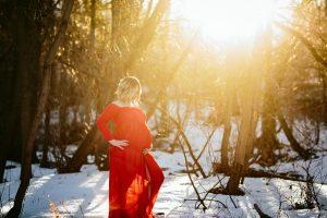 The Red Dress Edmonton Maternity