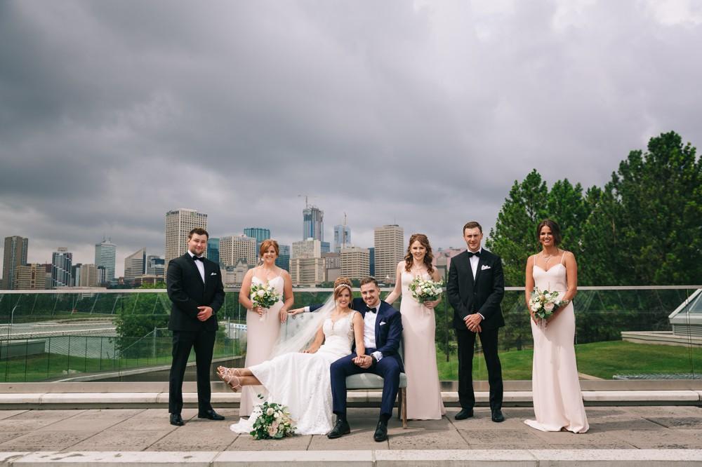 Summer Wedding at the Muttart