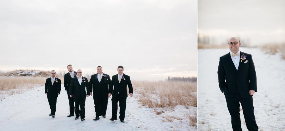 Edmonton Winter Wedding - Theresa and Massimo