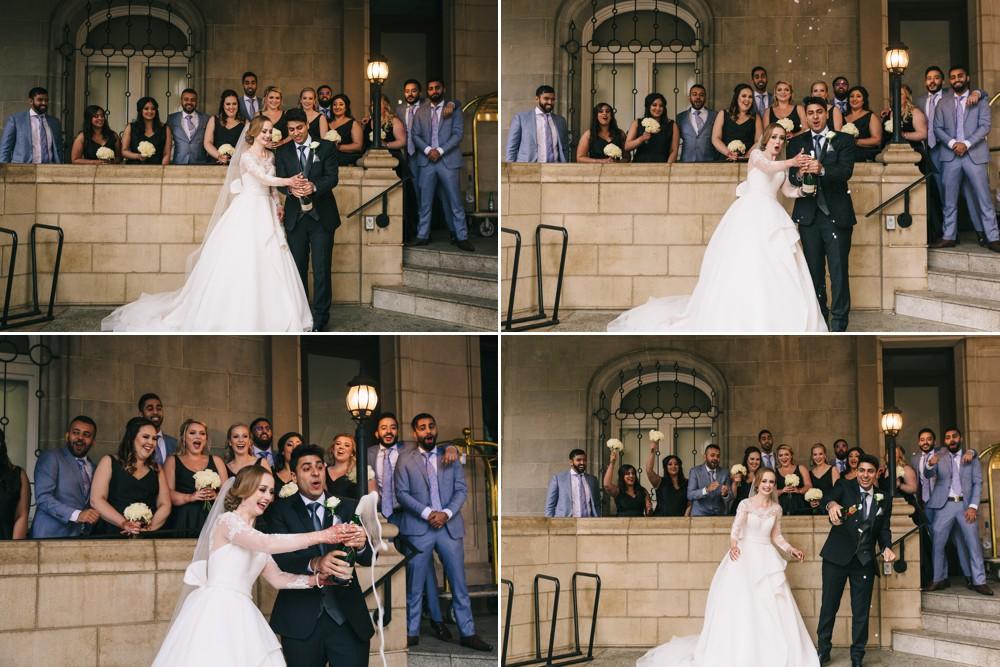 Laura and Neeraj's Hotel MacDonald Wedding