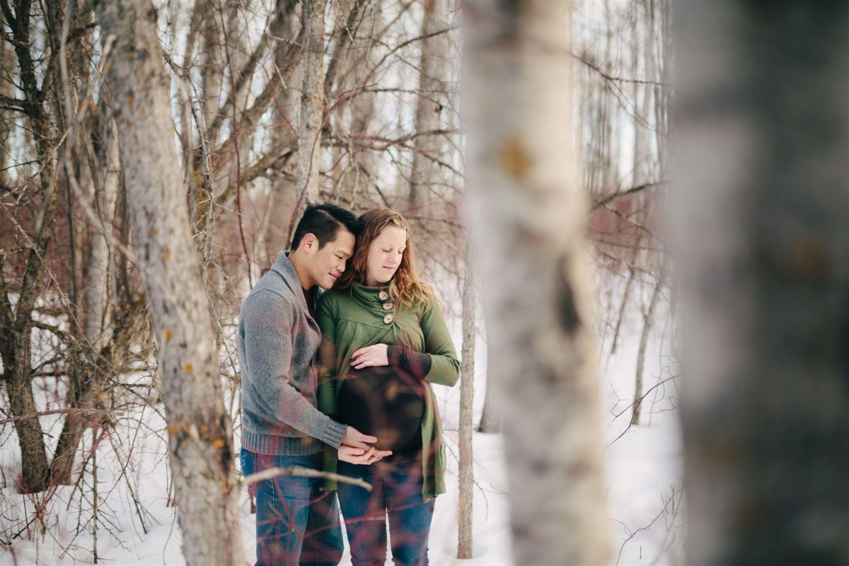 Edmonton Maternity and Family Session